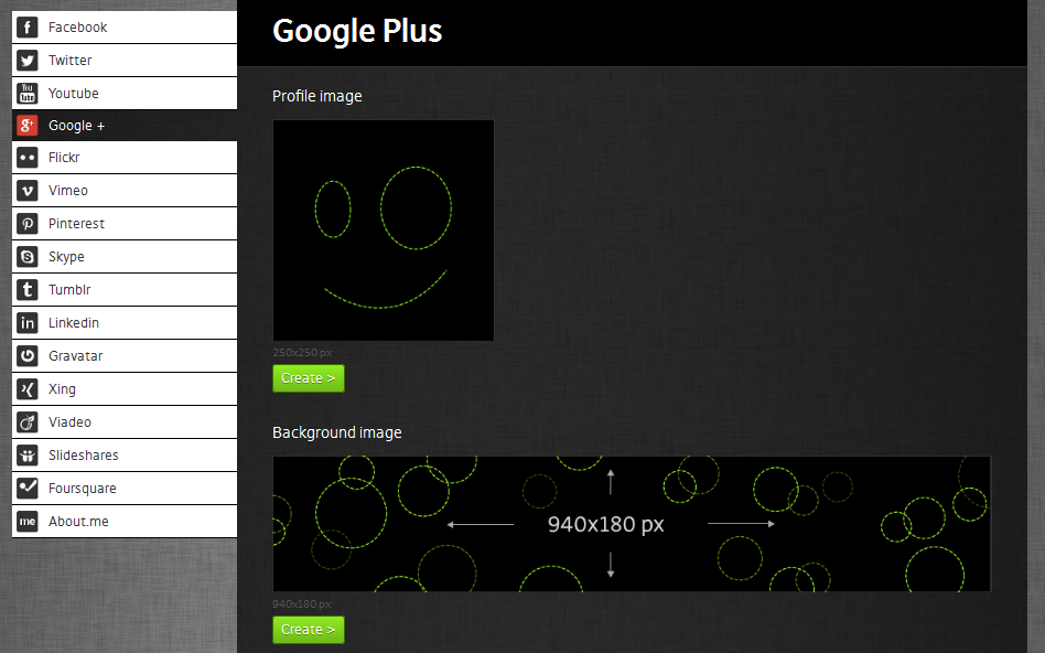 Outil format images Google+